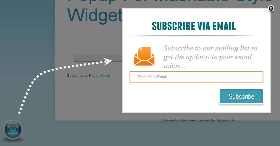 POP-UP SUBSCRIPTION SIGN UP CAN KILL YOUR WEBSITE VERY FAST
