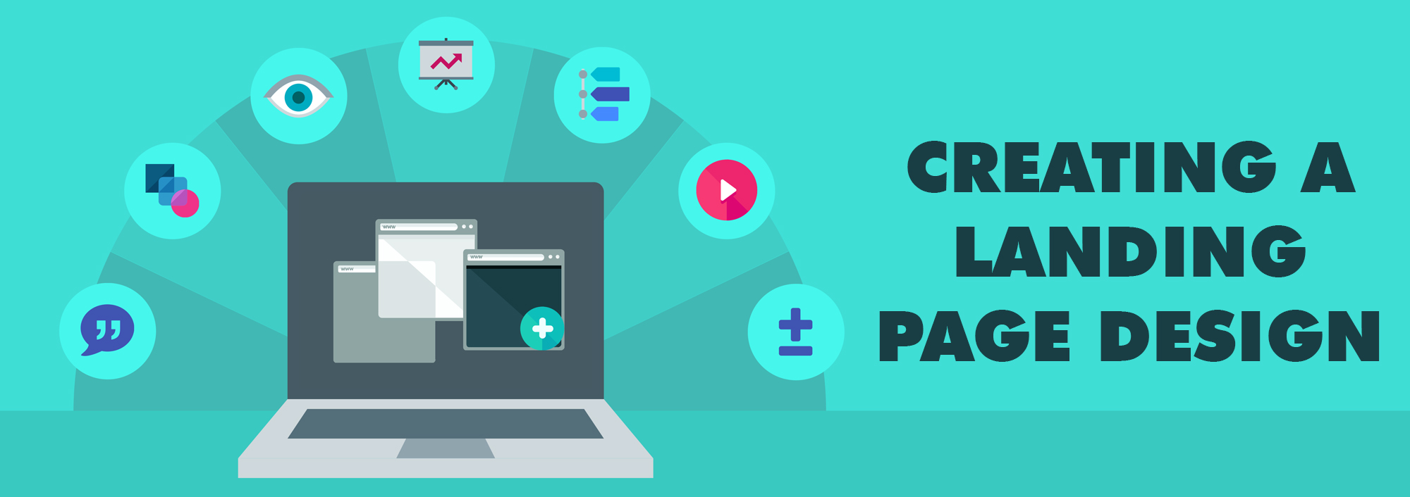 Golden rules to follow when creating a landing page design - Ideas