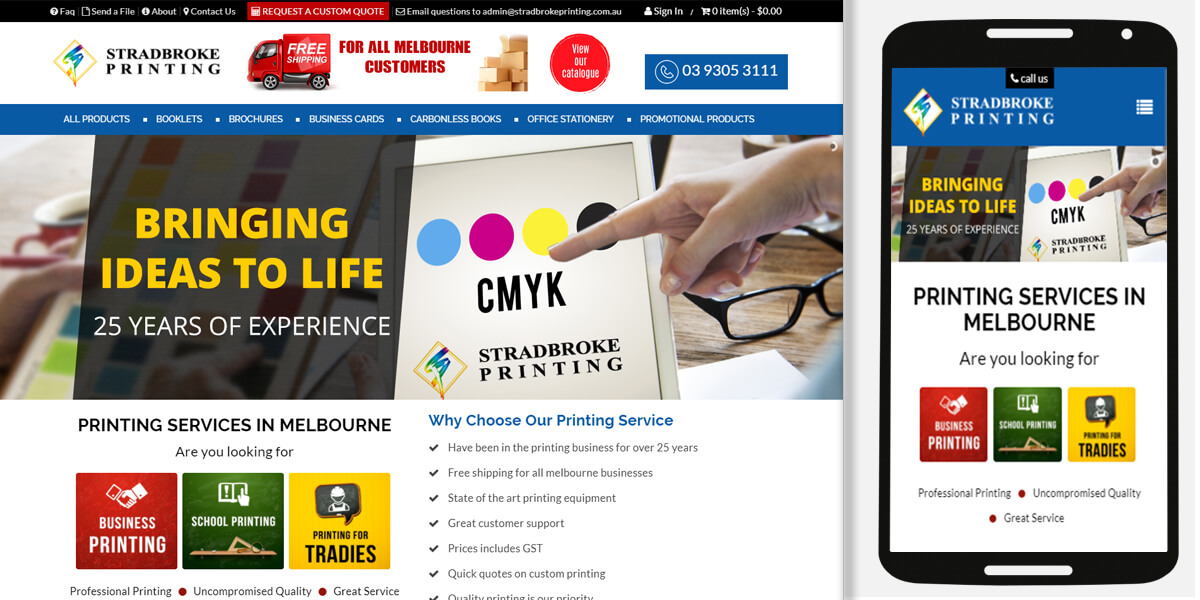 Web design in greensborough website design solutions reheart Choice Image